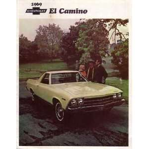 1969 CHEVROLET EL CAMINO Sales Brochure Literature Book