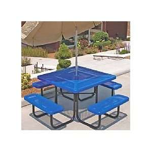 Kent Square Commercial Picnic Table Patio, Lawn & Garden