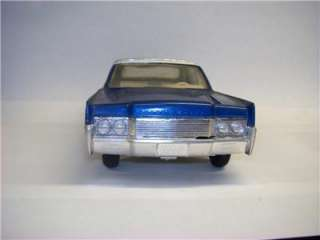 VTG 1/25 AMT 1966 LINCOLN CONTINENTAL CUSTOMIZING KIT BUILT PIMP RAT