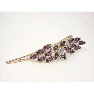 Rhinestone Flower Hair Stick Clip Beauty