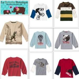 GYMBOREE PREPPYSAURUS Tops Shirts Bears Cobra Bikes Cars Dinos U PICK