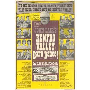 Renfro Valley Barn Dance Movie Poster (27 x 40 Inches
