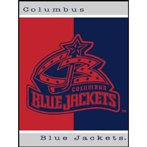 Columbus Blue Jackets NHL 60x50 inch All Star Collection