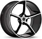 20 22 RUFF RACING 953 BLACK BRUSHED WHEELS CORVETTE C5 items in RIM