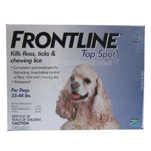 Frontline Dog 23 44 pound 3 pack Flea and Tick Treatment