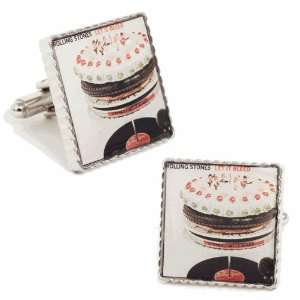 Cufflinks   Rolling Stones Let It Bleed Album Cover Jewelry