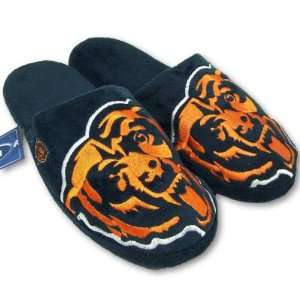 CHICAGO BEARS OFFICIAL LOGO PLUSH SLIPPERS SZ L Sports
