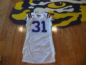 2004 LSU Football GAME USED JERSEY #31 JESSIE DANIELS