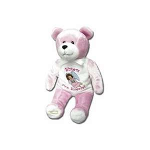 Sisters Are Special Teddy Bear Plush   Holy Bears Toys & Games