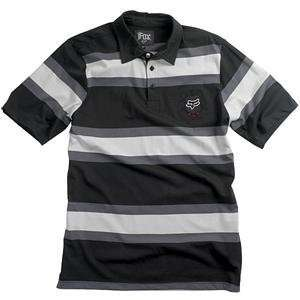 Fox Racing Fickle Polo   Medium/Black Automotive