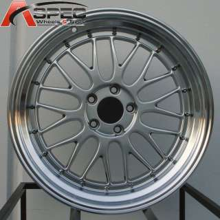 19 LM STYLE STAGGERED RIM WHEEL 19X8.5 +15 19X9.5 +20 5X114.3 HYPER