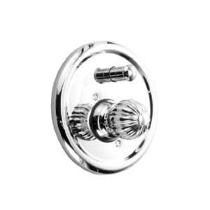 JADO ORE KNOB PB TUB/SHOWER VALVE & TRIM BN