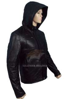 Mission Impossible 4 Ghost Protocol Cruise Mens Hooded MI4 Leather