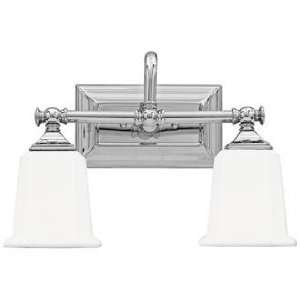 Nicholas Collection Polished Chrome 15 Wide Bathroom Light