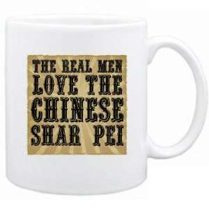 New  The Real Men Love The Chinese Shar Pei  Mug Dog