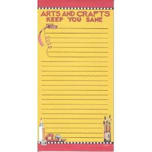 Mary Engelbreit Magnetic Refrigerator Grocery List To Do Yellow Note