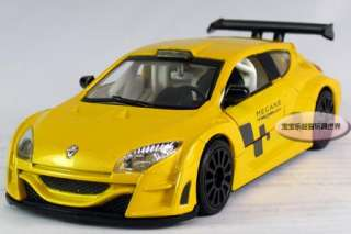 New Renault Megane 132 Alloy Diecast Model Car With Sound&Light