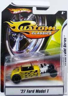 HOT WHEELS CUSTOM CLASSICS 27 FORD MODEL T #M2441 NRFP