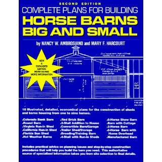 Complete Pole Barn Construction Blueprints for Small Horse Barns