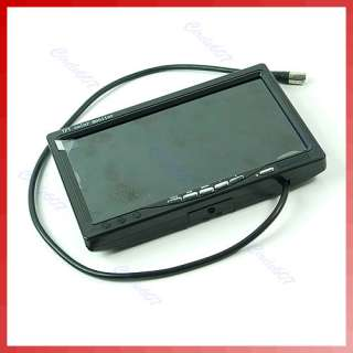 Inch TFT LCD Color Display Car Rearview Headrest Monitor DVD VCR
