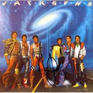 MICHAEL JACKSON (Jackson 5  Victory) In Person Signed LP