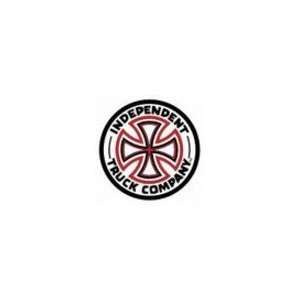 INDEPENDENT Red/White Cross Sticker 7 Inch Automotive