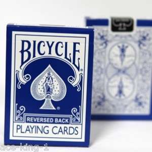 deck Bicycle Blue Reverse playing cards magic poker