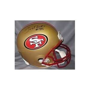 Jerry Rice Hand Signed Autographed San Francisco 49ers Official Full