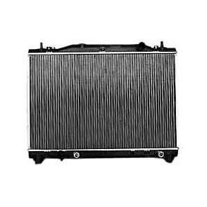 Cadillac CTS 1 Row Plastic Aluminum Replacement Radiator Automotive