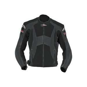 Closeout   Teknic Chicane Vented Leather Jackets 54 Automotive