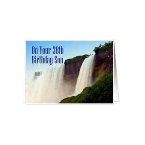 Birthday ~ Son ~ 38th ~ Niagara Falls Canada Card Toys & Games
