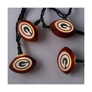 Green Bay Packers Football Party Lights