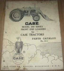Case 290 Series Front End Loader Parts Catalog