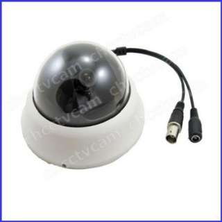 Mini 1/3 Sony CCD 600TVL CCTV Color Dome Camera 0.01Lux
