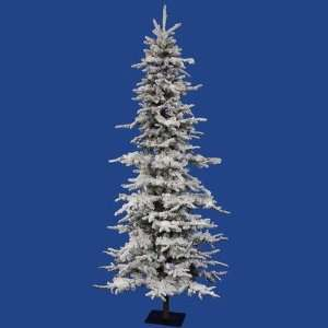 Vickerman A101277LED Flocked Georian Fir 90 Artificial