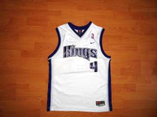 CHRIS WEBBER SACRAMENTO KINGS NIKE JERSEY YOUTH XL 20