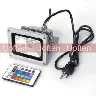 Waterproof 10W RGB Color Change LED Flood Wash Light