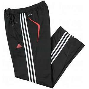 adidas Mens ClimaLite Presentation Track Pants Black/Red/Large
