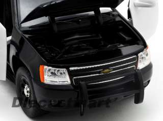 JADA 124 2010 CHEVY TAHOE NEW UNMARKED DIECAST POLICE VEHICLE BLACK