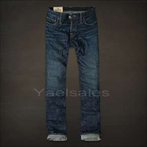 NEW 2012 Hollister Mens Jeans Slim Straight All Sz NWT