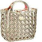 NWT KATE SPADE FIVE POINTS CAMILLE HANDBAG GOLD METALLIC