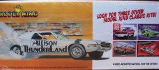 Model Kit Ford ThunderBird Funny Car V 12 POWERED ALLISON ENGINE 125