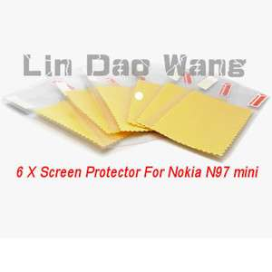 Anti Scratch LCD Screen Protector Film For Nokia N97 Mini