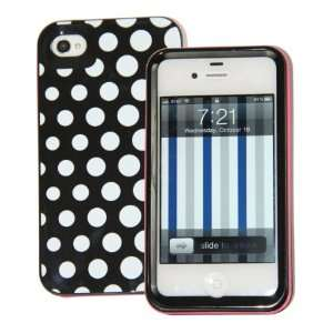 (Gradient Black White Dots) Kate Spade 3 Layers Case for