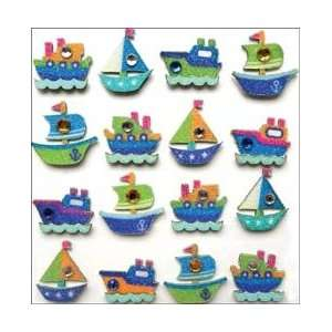Mini Repeats Stickers Boats; 3 Items/Order Arts, Crafts & Sewing