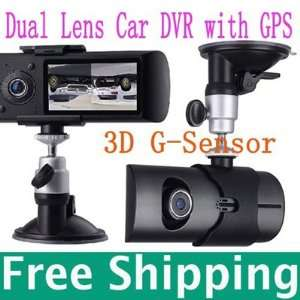 dash board camera car dvr black box video recorder + gps logger Car