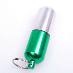 Pill Box Case Bottle Holder Container Keychain