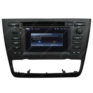 116i/118i/120i/30i/130d Car GPS Navigation Radio DVD TV Player