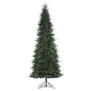 14 Tiffany Spruce Artificial Slim Christmas Tree   Unlit