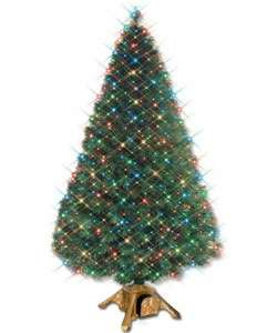 EZ Change Fiber Optic Christmas Tree (4 ft.)